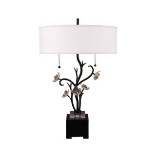 Dale Tiffany Sara Bay Table Lamp in Antique Bronze