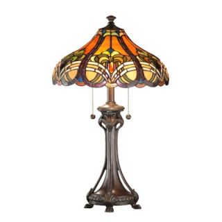 Dale Tiffany Bellas Table Lamp in Weather Ford   TT101033