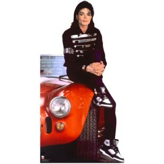 Advanced Graphics Michael Jackson Red Car Cardboard Stand Up   #152