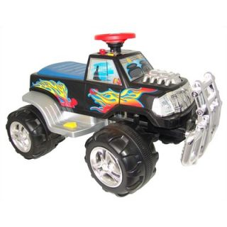 New Star Monster Truck Battery Powered Ride On Toy in Black   NS 891