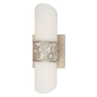 Troy Lighting Aqua Wall Sconce in Silver Gold