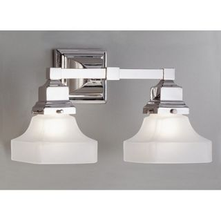 Norwell Lighting Birmingham Two Light Bath Vanity   8122 BN PY