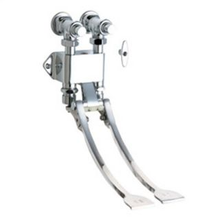 Chicago Faucets 834 Wall Mount Double Pedal Self Closing Valve in