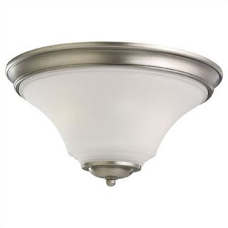 Sea Gull Lighting Somerton 2 Light Flush Mount   75375 839
