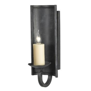 Sea Gull Lighting Saranac Lake Wall Sconce in Forged Iron   4111 185