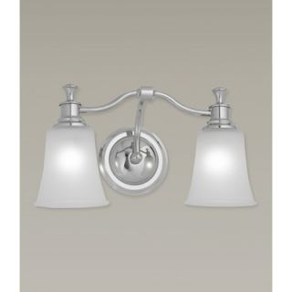 Norwell Lighting Sienna Two Light Bath Vanity   9722 BN FR / 9722 CH