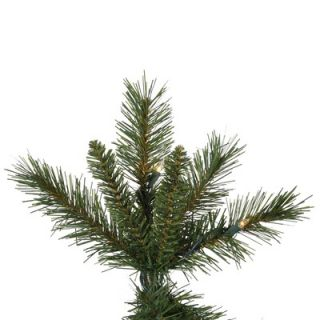 Vickerman 7 Newport Mix Pine Artificial Christmas Tree with Clear