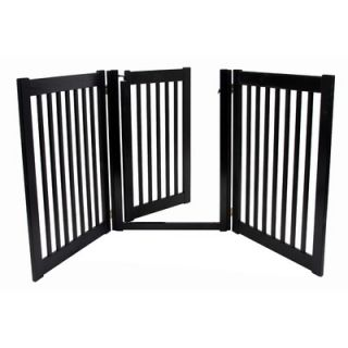 Majestic Pet Freestanding Pet Gate in White   78899504111 All Pet