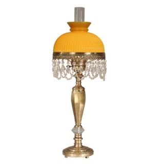 Dale Tiffany Traditional Diego Table Lamp in Zadar Brass Finish