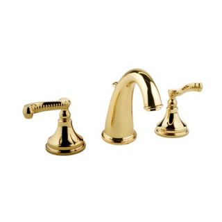Meridian Double Handle Widespread Bathroom Faucet