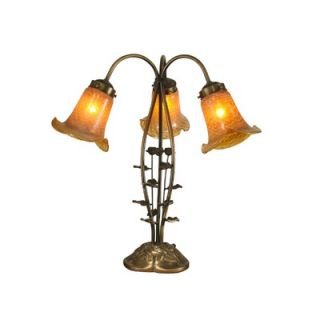 Dale Tiffany Tulip Table Lamp in Antique Gold