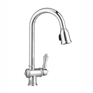 Jado Victorian Single Handle Single Hole Kitchen Faucet with Hand