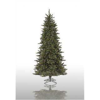 Prelit Slim Camdon Fir Artificial Christmas Tree with Clear Li