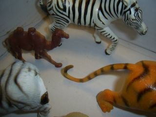 Lot of Zoo Wild Animals Science Nature Safari Toys Action Figures
