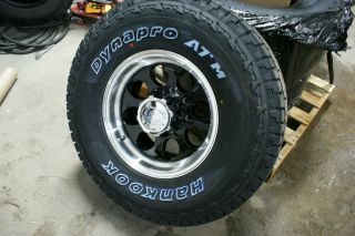 Hankook Dynapro at M 265 75 Ford Chevy Plow Truck Wheels Tires