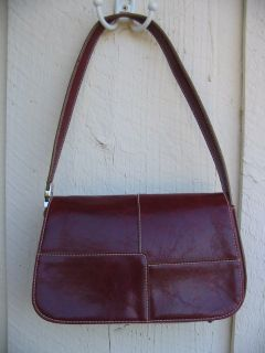 NICE Pre Owned Genuine Q A Purse Shoulder Bag Large Zippered back for