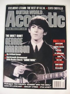 2002 Guitar World Acoustic George Harrison Jewel Staind