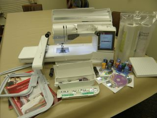 Husqvarna Viking Sewing Embroidery Machine Designer Ruby with EXTRAS