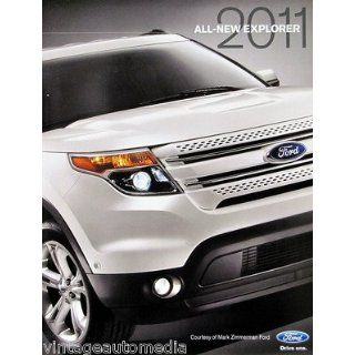 2011 Ford Explorer SUV vehicle brochure