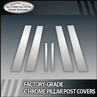 2010 2013 Ford Fusion 6Pc Chrome Pillar Post Covers
