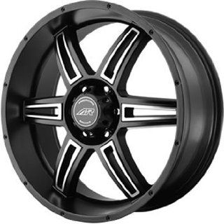 American Racing AR890 18x8 Black Wheel / Rim 5x5.5 with a 0mm Offset