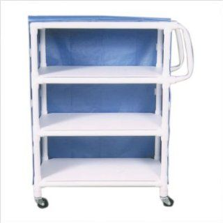 Bundle 69 Mid Size Linen Cart (Set of 2) Number of Shelves