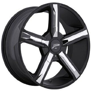 Platinum Dynasty 18x8 Black Wheel / Rim 5x4.5 & 5x5 with a 32mm Offset