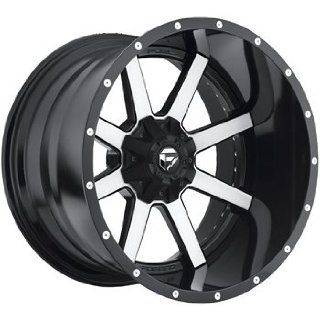 Fuel Maverick 22x12 Machined Black Wheel / Rim 6x135 & 6x5.5 with a