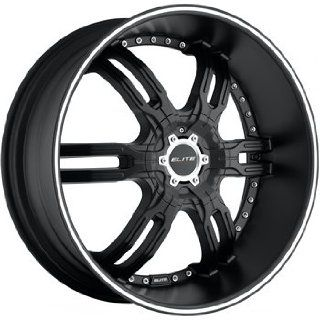 Elite Carnal 26x9.5 Flat Black Wheel / Rim 6x135 & 6x5.5 with a 30mm