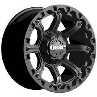 Gear Alloy Black Jack 17x9 Black Wheel / Rim 8x6.5 with a 18mm Offset