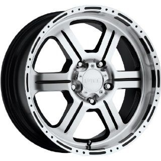 Tec Off Road 20 Machined Black Wheel / Rim 8x6.5 with a 18mm Offset