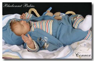 Baby Connor Doll Kit by Heather Boneham for Reborn