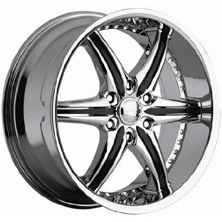 Cattivo 724 20x9 Chrome Wheel / Rim 6x135 with a 30mm Offset and a 87