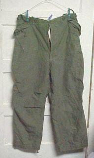 KOREAN WAR US ARMY M 1951 FIELD TROUSERS PANTS SHELL REG LARGE 35 39
