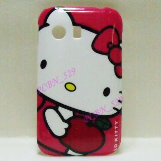 Hello Kitty J Phone case Screen Protector For Samsung Galaxy Y S5360