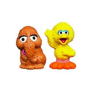 Sesame Street Snuffleupagus & Big Bird Figures Everything