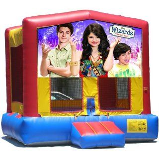 Wizards of Wavely Place Bounce House Inflatable Jumper Art