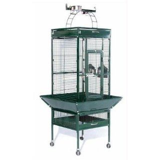 Prevue Hendryx 3151COCO Pet Products Wrought Iron Bird Cage Coco Brown