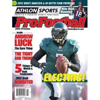 2012 Athlon Sports NFL Pro Football Magazine Preview