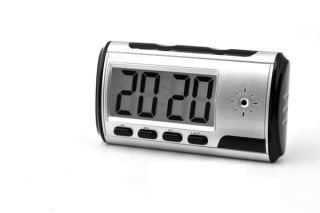 Digital Clock Hidden Camera DVR Motion Detection Alarm Video Recorder