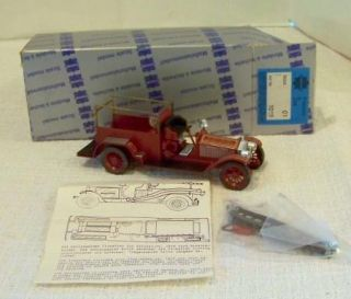DIECAST FIRE TRUCK MODEL 1019 HASTINGS ON HUDSON AMERICAN LAFRANCE