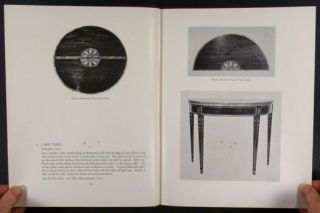 ANTIQUE BALTIMORE MARYLAND COLONIAL & FEDERAL FURNITURE  1947 CLASSIC