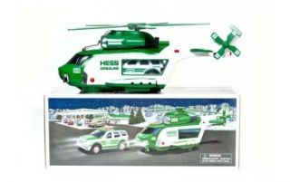 Hess 2012 Toy Truck Helicopter and Rescue