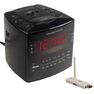Nanny Cam Hidden Covert Wireless Spy Camera Alarm Clock USB View PC