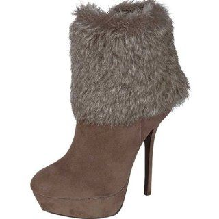 BreckelleS Beverly 27 Faux Fur Line High Heel Boots