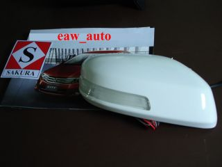 Door Mirror Cover with LED for All New Honda City 2009