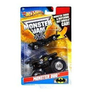 Hot Wheels Monster Jam Monster Duo BATMAN 164 Scale