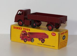 Dinky Toys 421 Hindle Smart Electric Truck