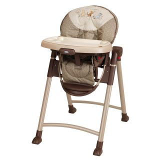 Graco Contempo Folding High Chair Adj E 6 Position Baby Infant Feeding