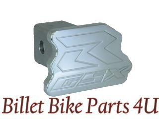 Suzuki GSXR Chrome Trailer Hitch Plug Cover